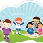 Crianças e adolescentes saudáveis para pesquisa