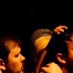 Fotografando cenas do teatro