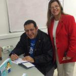 FORP recebeu a visita do cartunista Rodrigo Tramonte