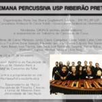 Semana Percussiva da USP Ribeirão