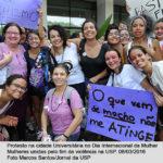 Na USP Ribeirão mês das mulheres, com arte e reflexão