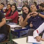 Inscrições para trabalho voluntário com estudantes do ensino médio