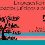Empresas familiares é tema de palestra