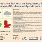 Seminário discute gestão do saneamento básico