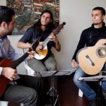 Trio colombiano no Revoredo