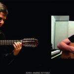 Palco aberto une viola e guitarra