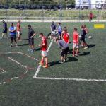 Pesquisador avalia passe e drible de jogadores de futebol no interior paulista