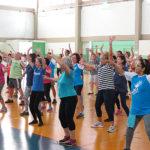 Escola de Educação Física oferece exercício físico para idosos sedentários