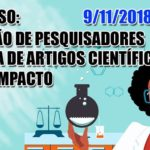 Minicurso de formação de pesquisador e escrita científica