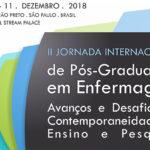 Enfermagem realiza jornada internacional de pós-graduação