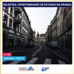 Palestra aborda oportunidades de estudos na França